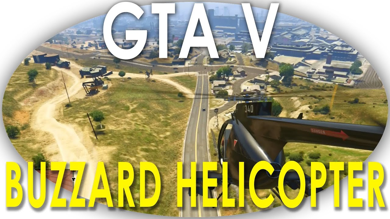 GTA V - Buzzard Helicopter Location Guide EASY TO STEAL ...