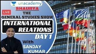 The GS Show International Relations 1 Current Affairs 2020 UPSC CDS 2020 ExArmy Sanjay Kumar