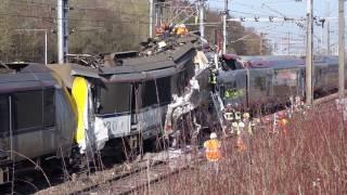 Accident de train à la frontière luxembourgeoise (vidéo L'essentiel)