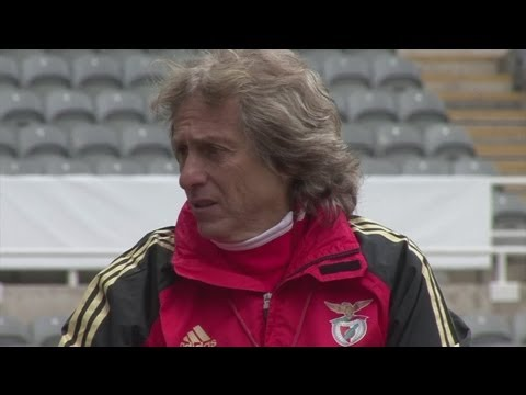 Newcastle vs Benfica - Europa League 2nd Leg - Benfica ready for St. James' Park atmosphere