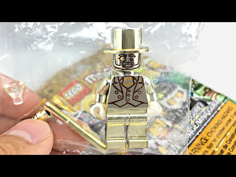 LEGO Mr. Gold unboxing! LEGO Minifigures Series 10!