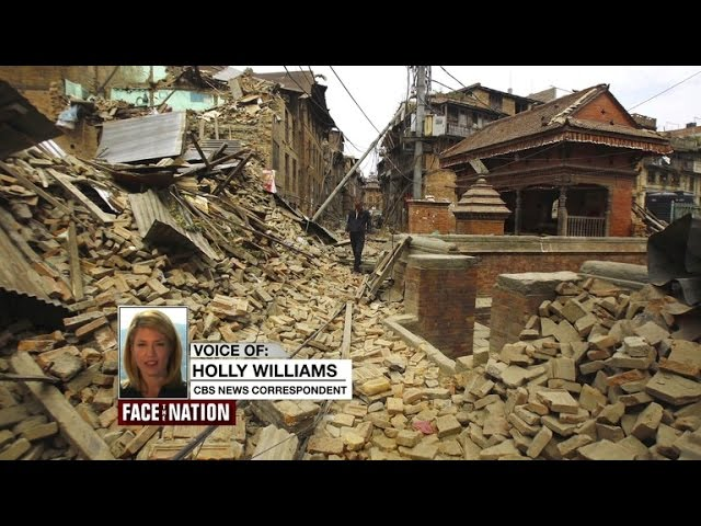 Aftershocks hit Nepal after massive quake