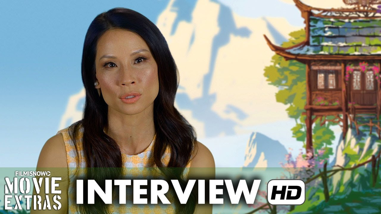 Kung Fu Panda 3 (2016) Behind the Scenes Movie Interview - Lucy Liu is 'Viper'