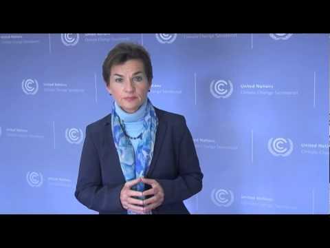 Christiana Figueres - Conferencia sobre el Cambio Climático, Abril de 2013