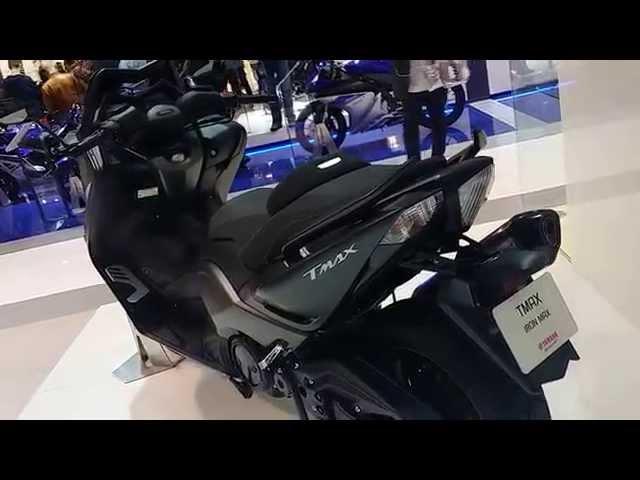 Vid�o Yamaha TMAX IRON MAX 2015 d�voil� � l'Eicma