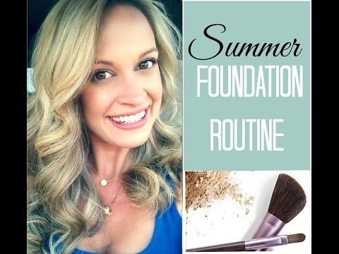 Summer Foundation Routine + Cover Acne Scars!