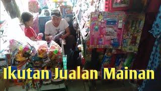 Belajar Jualan Mainan Anak sama Om Andri di Pasar Ciranjang Cianjur