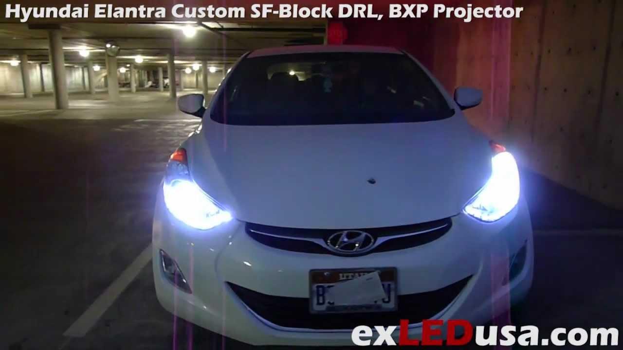 Exled Hyundai Elantra Custom Led Sf Block Drl Bxp