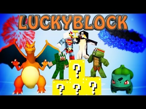 Minecraft Mods | LUCKY BLOCK CHALLENGE - Pixelmon (Lucky Block Mod)