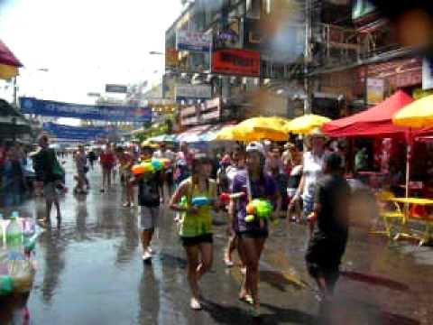 ~2010 Bangkok, THAILAND Songkran2~