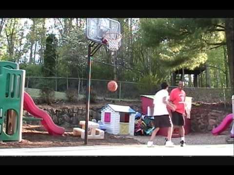 6' Tall 50 Year Old Dunker on Regulation Video