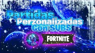 PARTIDAS PRIVADAS/COSTA ESTE/FORTNITE BATTLE ROYALE/