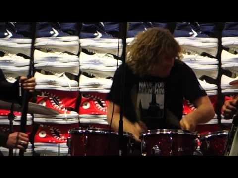 HOT LUNCH live at the Converse store in SF 2/13/2014