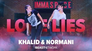Download Khalid amp Normani quotLOVE LIESquot  Janelle Ginestra Choreography  IMMASPACE Class