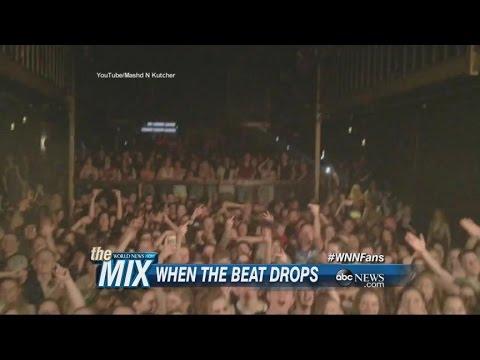 DJs Prank Crowd at Concert in Australia