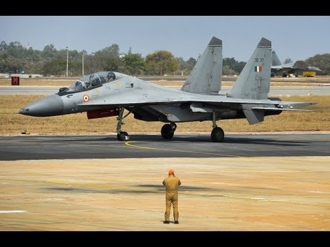Indian Air Force Sukhoi-30 MKI in Action