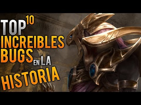 TOP 10 BUGS MAS INCREIBLES en la HISTORIA🔥 | League of Legends