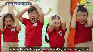 Trẻ Mầm non ở Vinschool học tiếng Anh như thế nào?