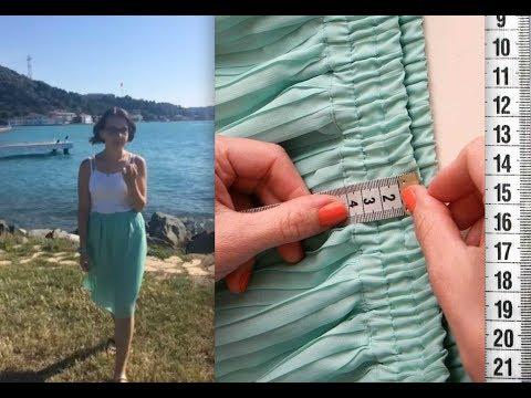 Судьба юбки-плиссе и о том, как сшить кулиску на юбке