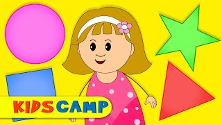 The Shapes Song - Nursery Rhymes & Kids Songs For Babies by KidsCamp