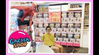 ? Amazing Hongdae Gachapon Capsule Toy Shop in, Seoul Korea