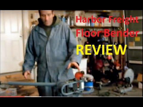 Harbor Freight Floor Bender Review
