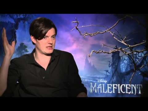"""Maleficent: Sam Riley """"Diaval"""" Official Movie Interview"""