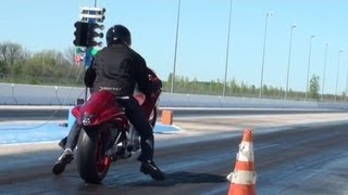 $10,000 STREET BIKE GRUDGE MATCH & SURPRISE STUNTIN!!