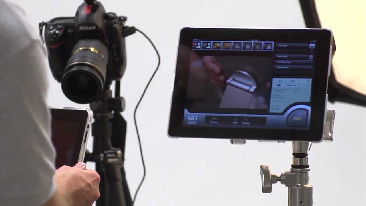 Connect Tablet To Tv >> Mount iPad or Galaxy Tablet on Tripod, Studio Stand or Arm for Photogaphy or Film - YouTube