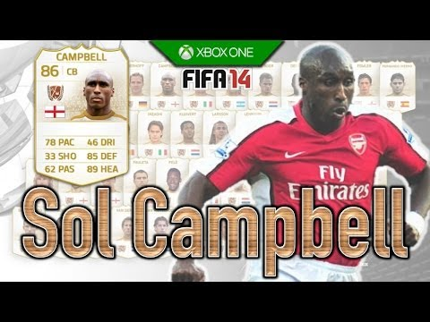 FIFA 14 | Legend Review | Sol Campbell !