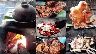 AYAM PANGGANG TUNGKU | AYAM BAKAR | GRILLED CHICKEN | PRIMITIVE TECHNOLOGY | STREED FOOD