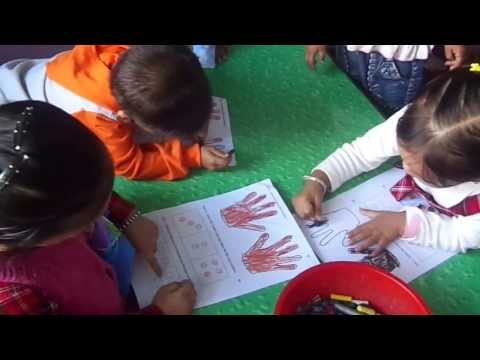 Happy Kids Montessori School: Controlled Coloring Activity (Pre-Writing Skills)