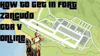 How To Get In The Military Base GTA V Online