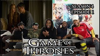 "Game of Thrones Season 4 Episode 1 ""Two Swords"" Reaction/Review"