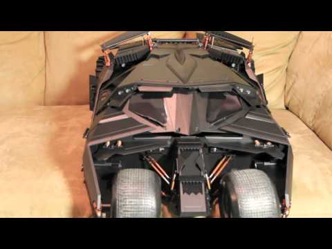 The Dark Knight Hot Toys Batmobile Tumbler Movie Masterpiece 1/6 Scale Collectible Vehicle Review