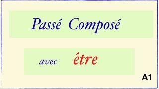Урок французского языка. Le Passé Composé avec être.