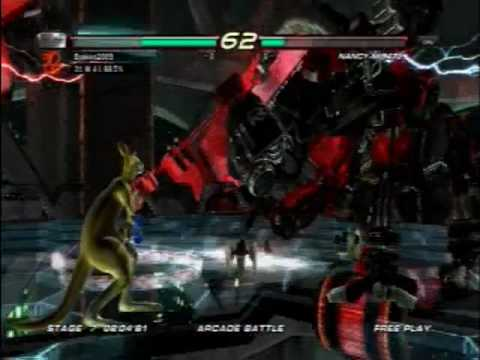Tekken 6 - Defeat NANCY-MI847J