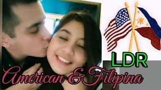American and Filipina First & Second Meeting LONG DISTANCE RELATIONSHIP (LDR)