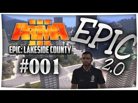 ES GEHT LOS! Auf STREIFE mit Bruce Willis - Arma 3 EPIC 2.0 Lakeside County (Polizei) [Deutsch]