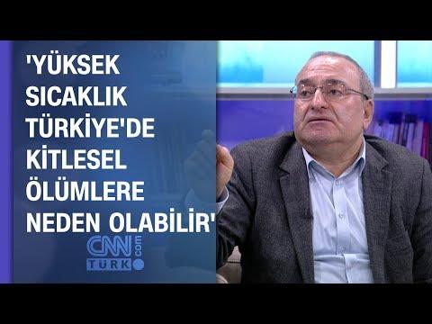 'Yüksek sıcaklık türkiye'de kitlesel ölümlere neden olabilir'