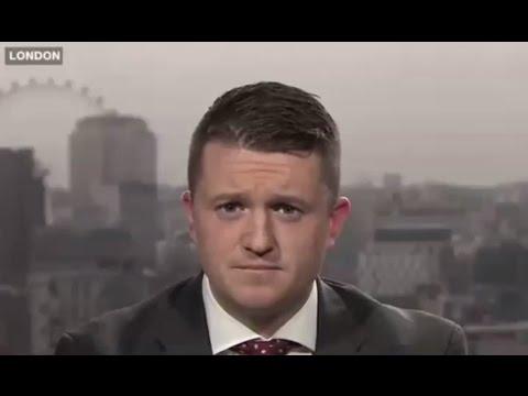Tommy Robinson, PEGIDA UK, debates Islam and Immigration on Arab TV (07/02/2016)