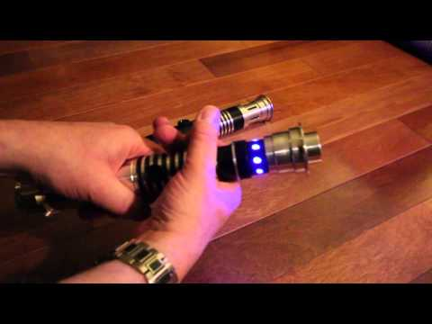 Ultra Sabers Archon V2 and Overlord Lightsaber Review