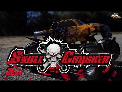 HobbyKing Product Video - 1/10 Quanum Skull Crusher 2WD Brushless Monster Truck (ARR)