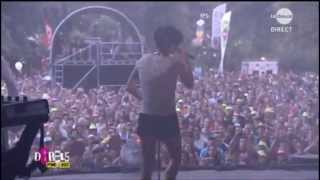 "Superbus - ""La Cible"" - Francofolies de Spa 2013"