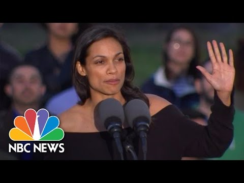 Rosario Dawson to Hillary Clinton: Shame On You | NBC News