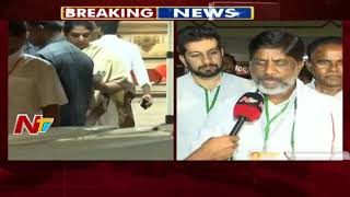 T Congress Leaders Meet Rahul Gandhi at Begumpet Airport | Prajakutami Seats Allocation | NTV