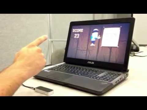 Leap Motion Controller demoed at the 2013 CES