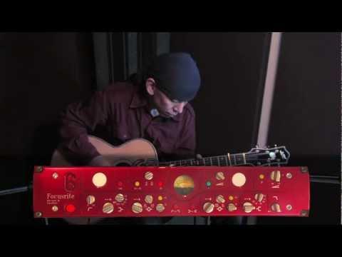 Microphone Preamp Comparison Test #1 - Guitar