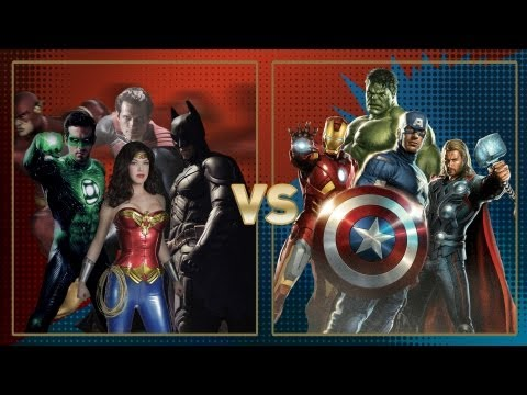 Justice League vs Avengers: Fanboy Faceoff