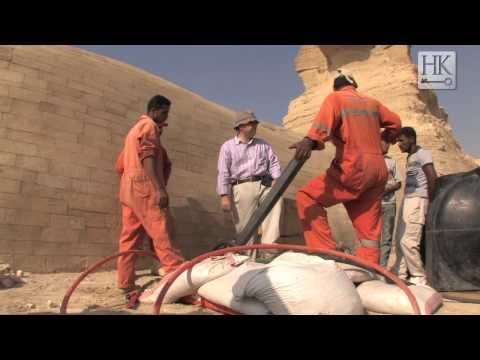 Drilling under the Sphinx (Featuring Dr Zahi Hawass and Dr Mark Lehner)